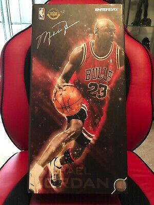 $500 • Buy Enterbay Michael Jordan Figure Series 1 Legend Real Masterpiece 1/6 Scale Figure