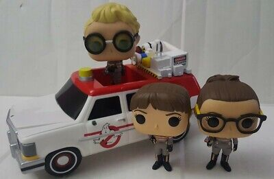 Funko Pop Rides Ecto-1 Ghostbusters Car And Figures Lot From Ghostbusters • 23.14£