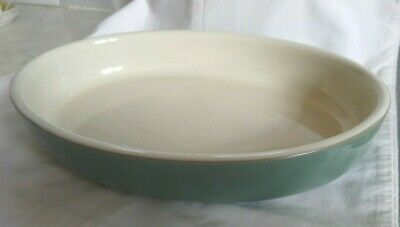 Denby Green Stoneware Oval Oven Dish - 12  X 9  • 13£