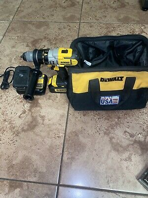 $140 • Buy DeWalt DCD985 20V MAX 3-Speed Hammer Drill, W/ Battery And Charger