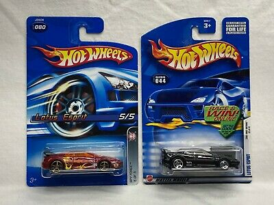 $ CDN3.95 • Buy Hot Wheels Black First Edition Lotus Esprit + Fte Faster Than Ever - Pair
