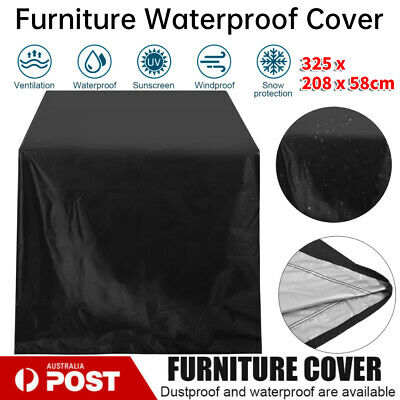 AU16.50 • Buy Outdoor Furniture Cover UV Waterproof Garden Patio Table Chair Shelter Protector
