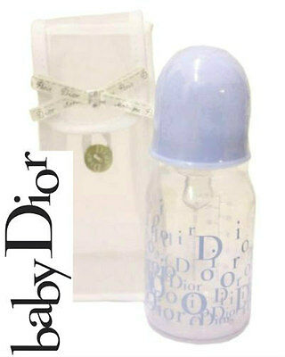 100%AUTHENTIC MOST RARE Edition BABY BOY DIOR Designer LOGO BLUE BOTTLE SOLD-OUT • 149£