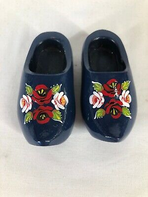 £7.99 • Buy Small Clogs Narrow Boat Barge Ware Canal Art Folk Style (ref T592)
