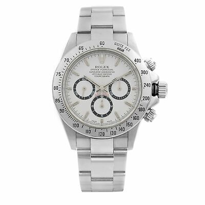 $ CDN36234.31 • Buy Rolex Daytona Cosmograph Zenith Movement Steel White Dial Mens Watch 16520