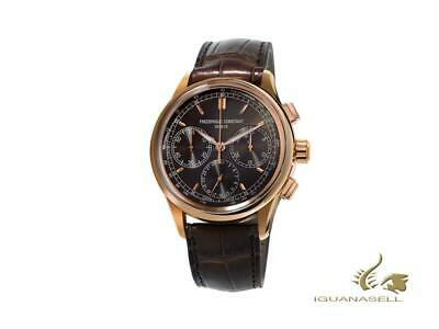 Frederique Constant Flyback Chronograph Manufacture Automatic Watch, Rose Gold • 10,470£