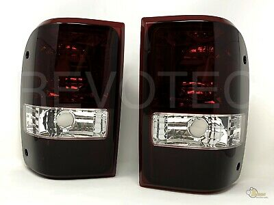 $52.95 • Buy 2001-2011 Ford Ranger Dark Red OE Style Replacement Tail Lights RH + LH
