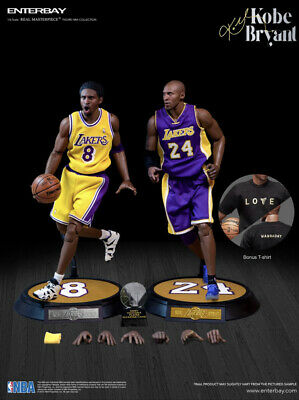 $300 • Buy 2 Kobe Bryant Multi-Action Body Models Rookie And Final Season EnterBay