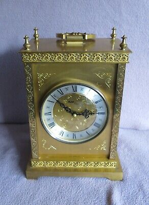 Vintage Avia Brass Quartz Carriage Clock • 35£