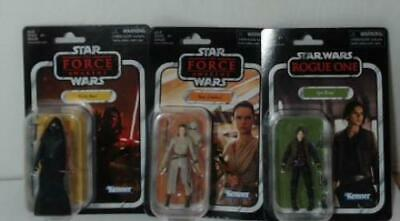 $ CDN13 • Buy NEW LOT OF 3  Star Wars 3.75  Mixed The Vintage Collection Action Figures