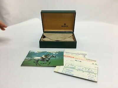 $ CDN78.43 • Buy GENUINE Vintage ROLEX Watch Box Case 68.00.55  DATEJUST Booklet
