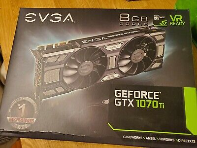 $ CDN303.35 • Buy EVGA GeForce GTX 1070 Ti SC GAMING 8GB GDDR5 Graphics Card GPU