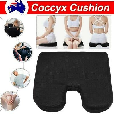 AU17.99 • Buy Memory Foam Lumbar Back Pillow Support Back Cushion Home Office Car Seat Chair