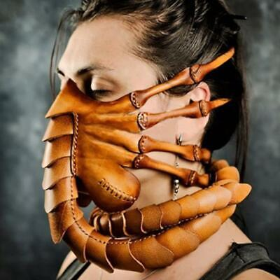 Halloween Party Funny Face Mask Scorpion Mask Alien Facehugger Latex Mask • 9.16£