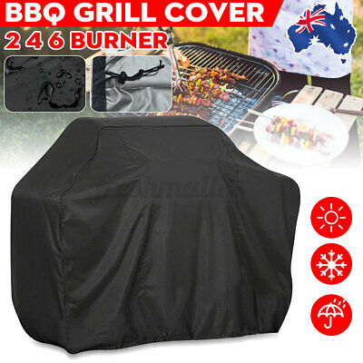 AU17.79 • Buy Outdoor Waterproof 2 4 6 Burner BBQ Cover Gas Charcoal Barbecue Grill Protector