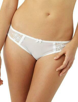 Cleo By Panache Lucy Brief5852 Womens Knickers New Lingerie White • 9.95£