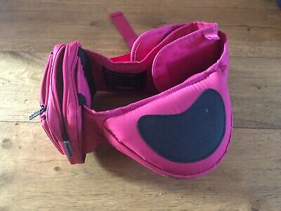 Hippychick Hipseat - Pink Baby/toddler Hip Seat, Used, Excellent Condition.  • 1.20£