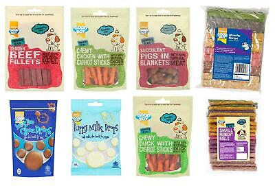 Pet Dog Puppy Treats Food Chews Gifts Snacks Healthy Natural • 8.99£