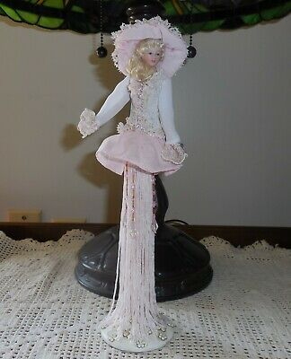 $ CDN33.27 • Buy Popular Creations Victorian Tassel Doll/Ornament Body Porcelain Stand Included