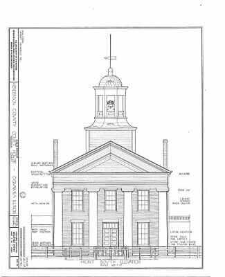 $ CDN16.44 • Buy Henderson County Courthouse,4th & Warren Streets,Oquawka,Henderson County, 7772