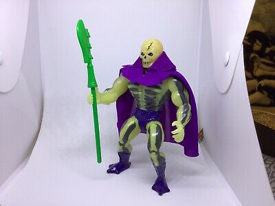 $449.95 • Buy Vintage Masters Of The Universe He-man Figure, SCARE GLOW COMPLETE,CAPE,STAFF