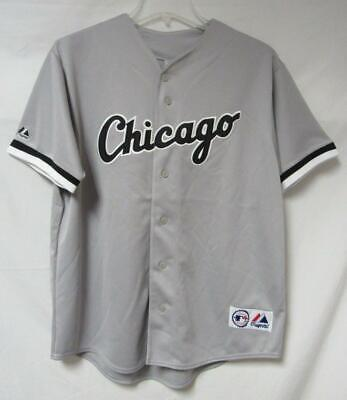 $25.49 • Buy Chicago White Sox Mens Size Large X-Large Or 2X-Large Button Front Jersey