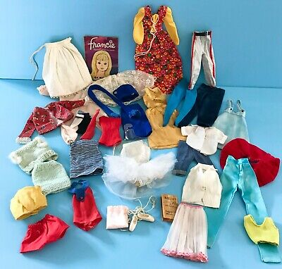 $ CDN22.48 • Buy Vintage 1960's To 1970's Mattel Barbie & Skipper Doll Clothes Lot Some Tagged