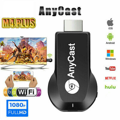 AU22.59 • Buy Anycast Miracast Media Player TV Stick M4 Plus Chromecast USB Dongle Chrome