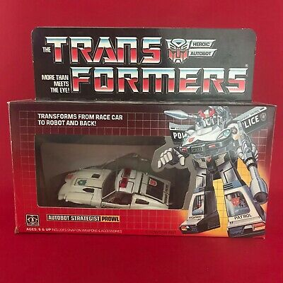 Transformers G1 Vintage - 1984 - Autobot Car Prowl - Fully Complete • 186£