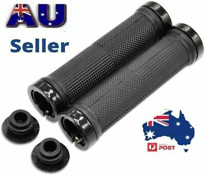 AU12.49 • Buy 1Pair Bike Handlebar Grips MTB/BMX Rubber Non-slip Durable Bicycle Handle Grips