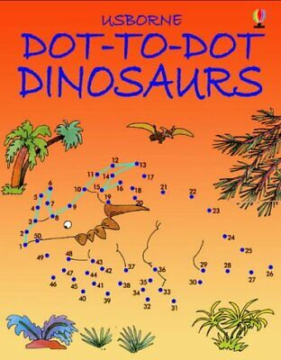 Dot To Dot Dinosaurs: 1 New Paperback Book • 3.60£