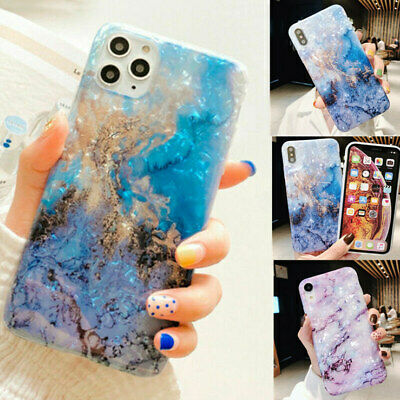 AU12.12 • Buy Case For IPhone 11 8 7 Plus Pro MAX XR SE Shockproof Marble Phone Silicone Cover