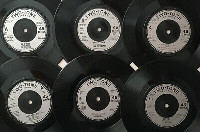"""6 X 7"""" Singles - Two Tone Label - Specials / Selector - Joblot  Pack Collection • 0.99£"""