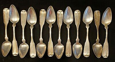 $ CDN30.98 • Buy  Lot Of 12 Antique Sterling Silver Spoons