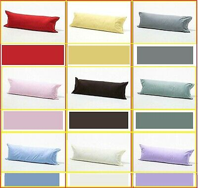 Bolster Pillow Case Maternity Pregnancy Body Support Long Pillow Cover All Sizes • 4.97£