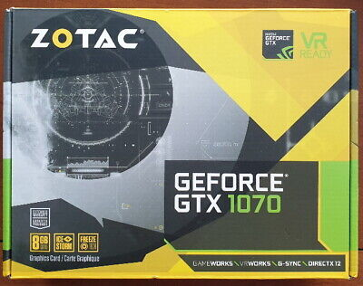 $ CDN270 • Buy ZOTAC GeForce GTX 1070 Mini 8GB GDDR5 Graphics Card (ZT-P10700L-10H)