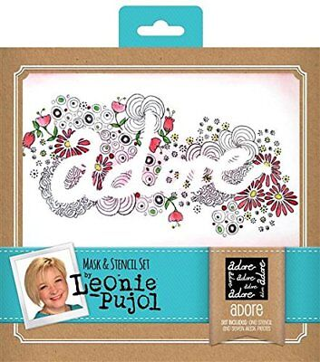 Leonie Pujol  Adore Masks And Stencils From Crafters Companion • 4.25£
