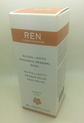 REN Clean Skincare Glycol Lactic Radiance Renewal Mask 50ml Brand New Cost £40 • 14.99£