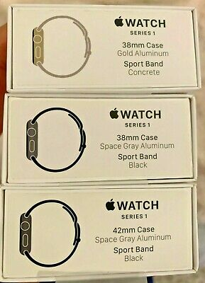$ CDN34.67 • Buy Lot Of Three (3) Apple Watch Sport Series 1 With EXTRAS  AS IS  - Two (2) WORK!!
