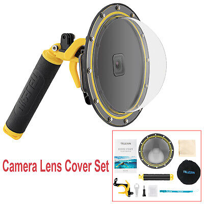 Underwater Camera Lens Cover Dome Waterproof Case Accessories For GoPro Hero9 • 46.53£