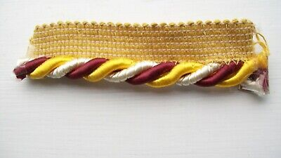 5 Mtr Upholstery Flanged Piping Cord 3 Colour, Cushions,upholstery, Trimming   • 5.50£