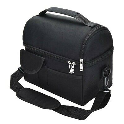 AU18.98 • Buy 8L Large Insulated Lunch Bag Cooler Picnic Travel Food Box Tote Carry Bags Mens