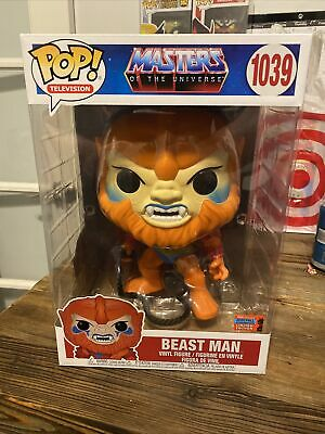 $100.90 • Buy Funko Pop Masters Of The Universe 10  BEAST MAN NYCC Shared Exclusive Preorder