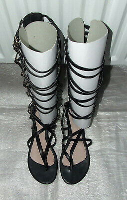 Woman's Gladiator Toe-post Sandals - Size 8UK / 41EU - Excellent Condition • 10£