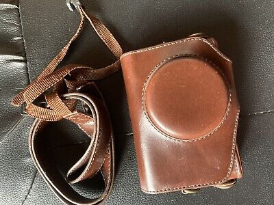 Leather Old Compact Camera Case • 3£