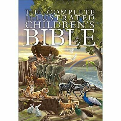 The Complete Illustrated Childrens Bible - HardBack NEW Harvest House P 2014-10- • 22.15£