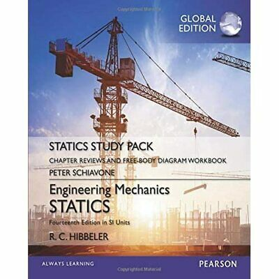 Engineering Mechanics: Statics, Study Pack, SI Edition  - Paperback NEW Hibbeler • 14.42£