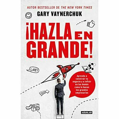 AU24.82 • Buy Hazla En Grande! / Crushing It!: How Great Entrepreneur - Paperback / Softback N