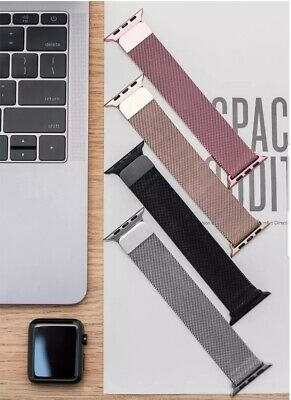 AU12.99 • Buy Apple Watch IWatch Band Milanese Magnetic Stainless Steel Strap Series 1 2 3 4 5
