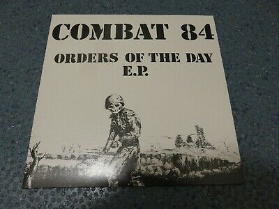 Combat 84,Orders Of The Day EP.Rare 7  Vinyl  Punk / Oi Single.VIC 1.Green Vinyl • 3.99£